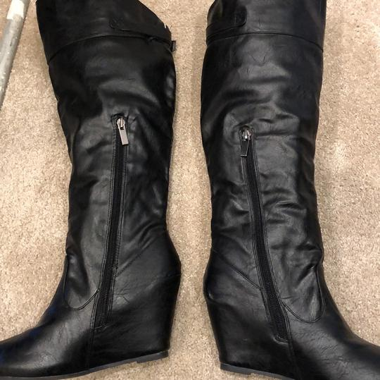 Bamboo black Boots Image 11