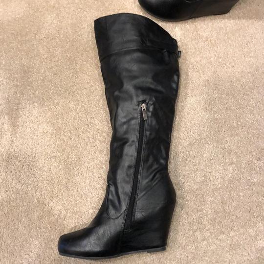 Bamboo black Boots Image 2