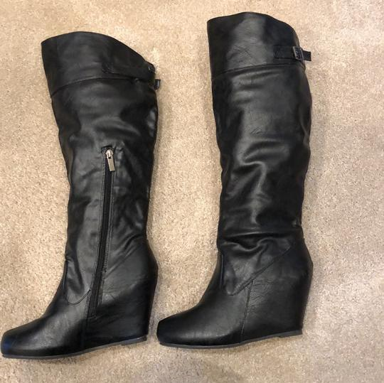 Bamboo black Boots Image 3