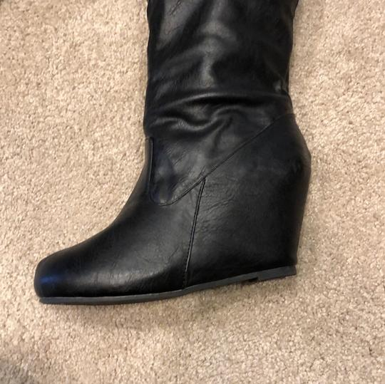 Bamboo black Boots Image 6