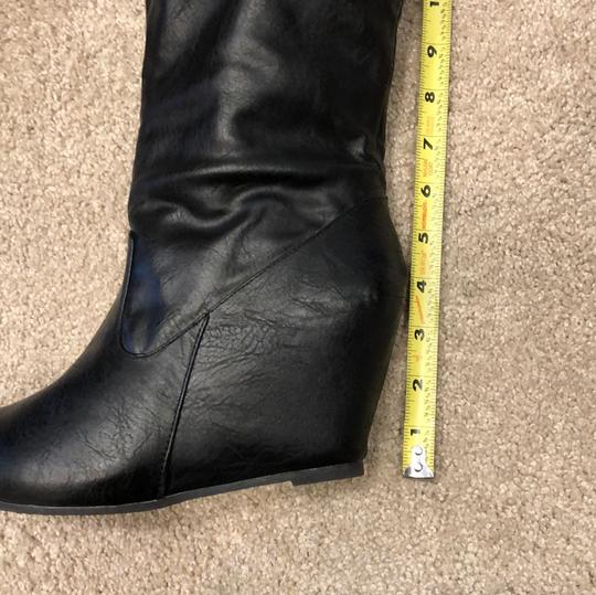 Bamboo black Boots Image 7