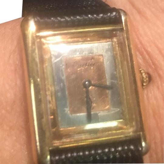 Preload https://img-static.tradesy.com/item/24473918/cartier-tri-color-gold-face-on-sterling-case-argent-watch-0-1-540-540.jpg