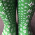 Bogs greens and pinks with Daisy pattern Boots Image 8