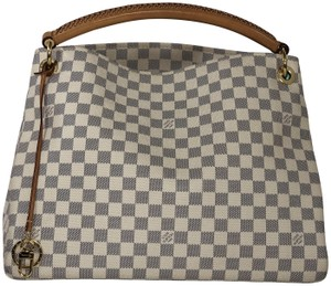 Louis Vuitton Artsy Artsy Mm Damier Canvas Shoulder Hobo Bag