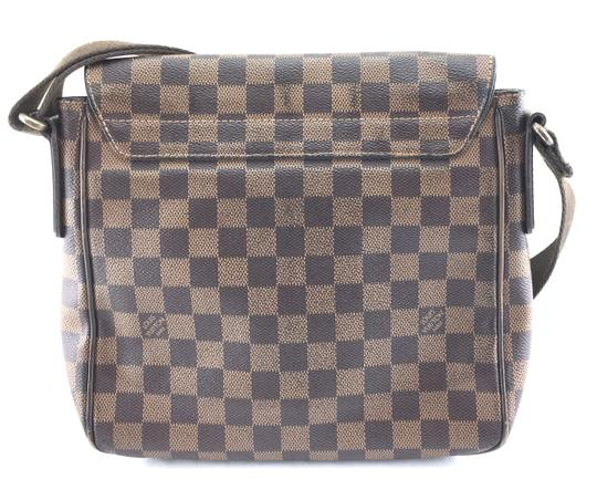 Louis Vuitton Lv Damier District Pm Brown Messenger Bag Image 1