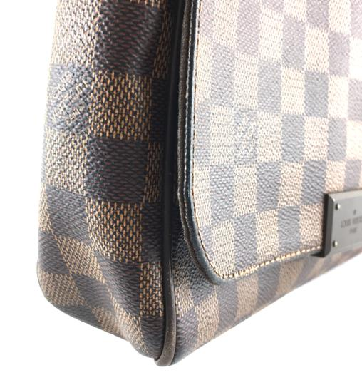 Louis Vuitton Lv Damier District Pm Brown Messenger Bag Image 9