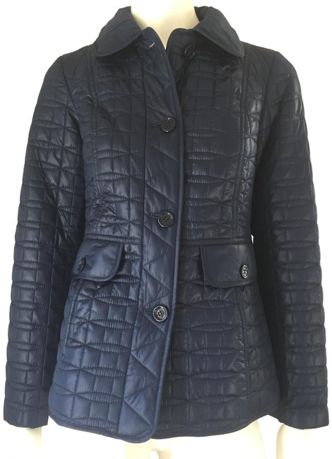 Item - Blue Light Puff/Quilted Jacket Coat Size 2 (XS)