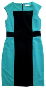 Calvin Klein Color-blocking Sleeveless Dress