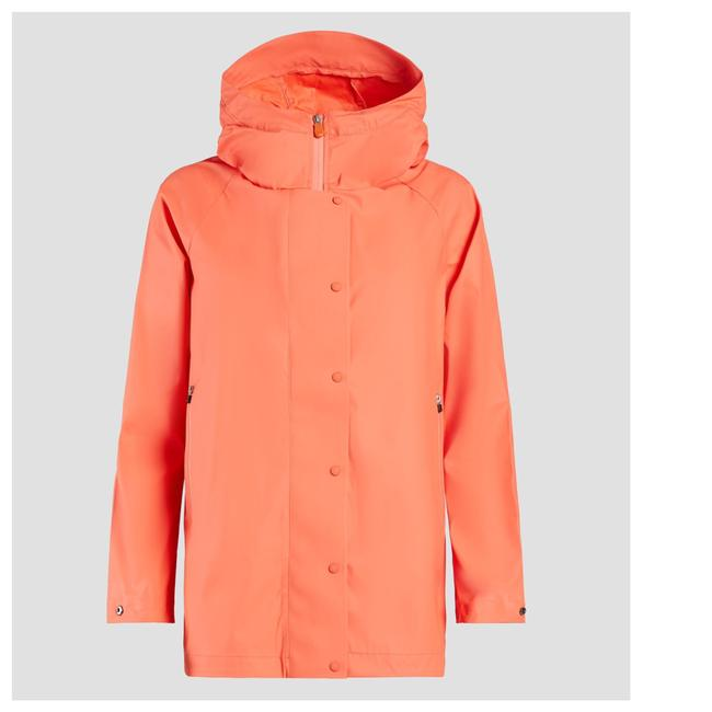 Preload https://img-static.tradesy.com/item/24474211/orange-snap-button-jacket-w-hood-coat-size-8-m-0-0-650-650.jpg