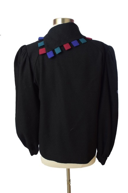 Chaock Vintage Casual Top Black Image 1