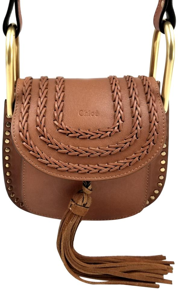 8a0e50cb Chloé Hudson Mini Caramel Suede Shoulder Bag 32% off retail