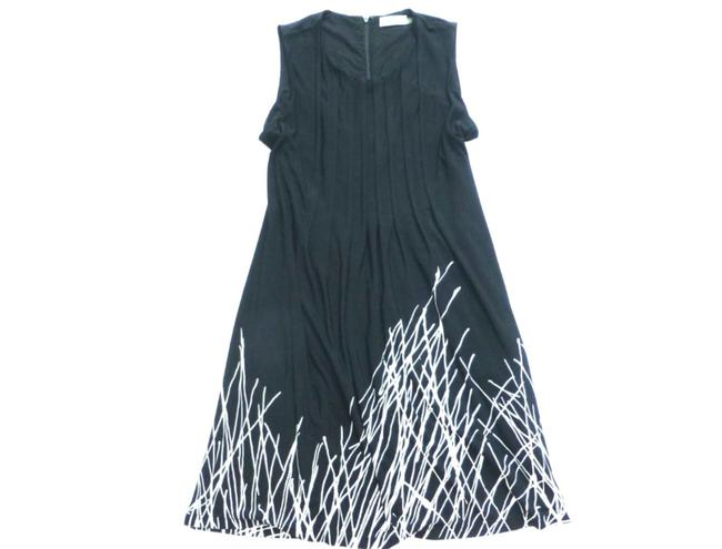 Calvin Klein Abstract Print Sleeveless Dress Image 1