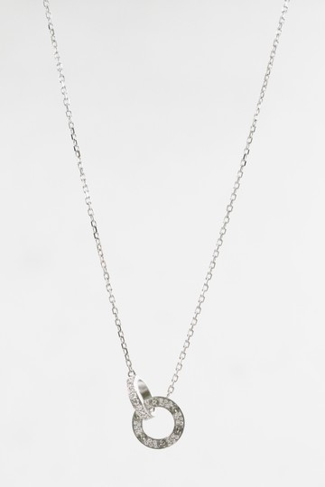 Cartier Cartier 18k White Gold Love Necklace, Diamond-paved Image 1