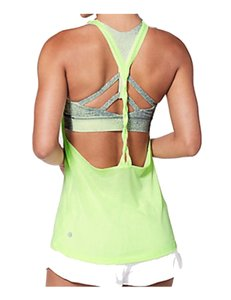 Lululemon Lululemon athletica Women's Green Twist and Toil Tank