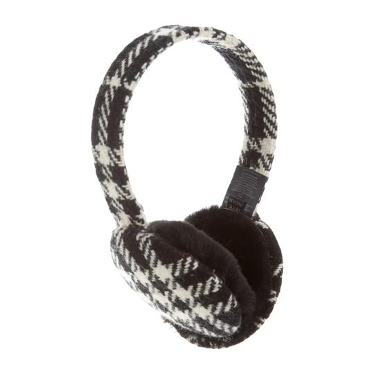 Burberry NWOT Burberry check wool earmuffs Image 1
