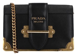 Prada Cahier Mini Cahier Cahier Chain Cross Body Bag