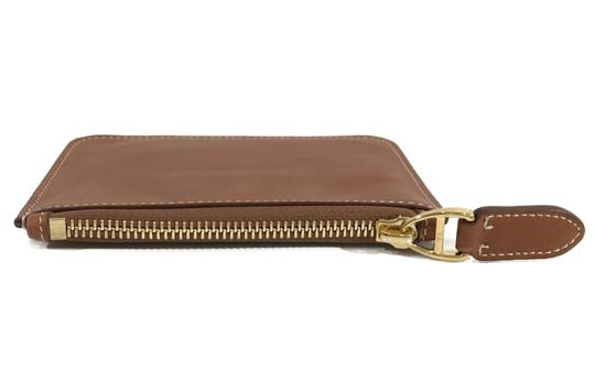 Ralph Lauren Collection NEW RALPH LAUREN Made in Italy Leather Mini Zip Pouch Image 10
