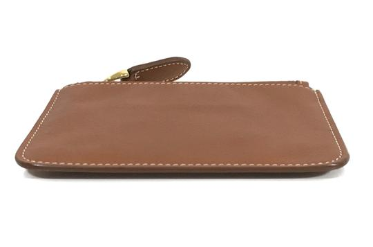 Ralph Lauren Collection NEW RALPH LAUREN Made in Italy Leather Mini Zip Pouch Image 3