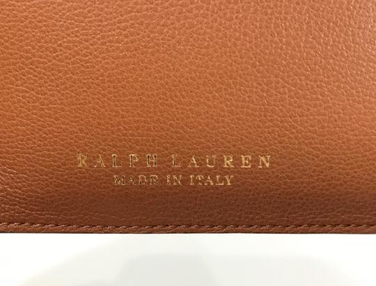 Ralph Lauren Collection NEW RALPH LAUREN Made in Italy Leather Mini Zip Pouch Image 7