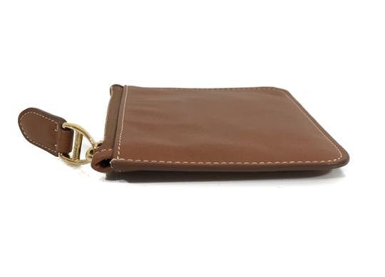 Ralph Lauren Collection NEW RALPH LAUREN Made in Italy Leather Mini Zip Pouch Image 9