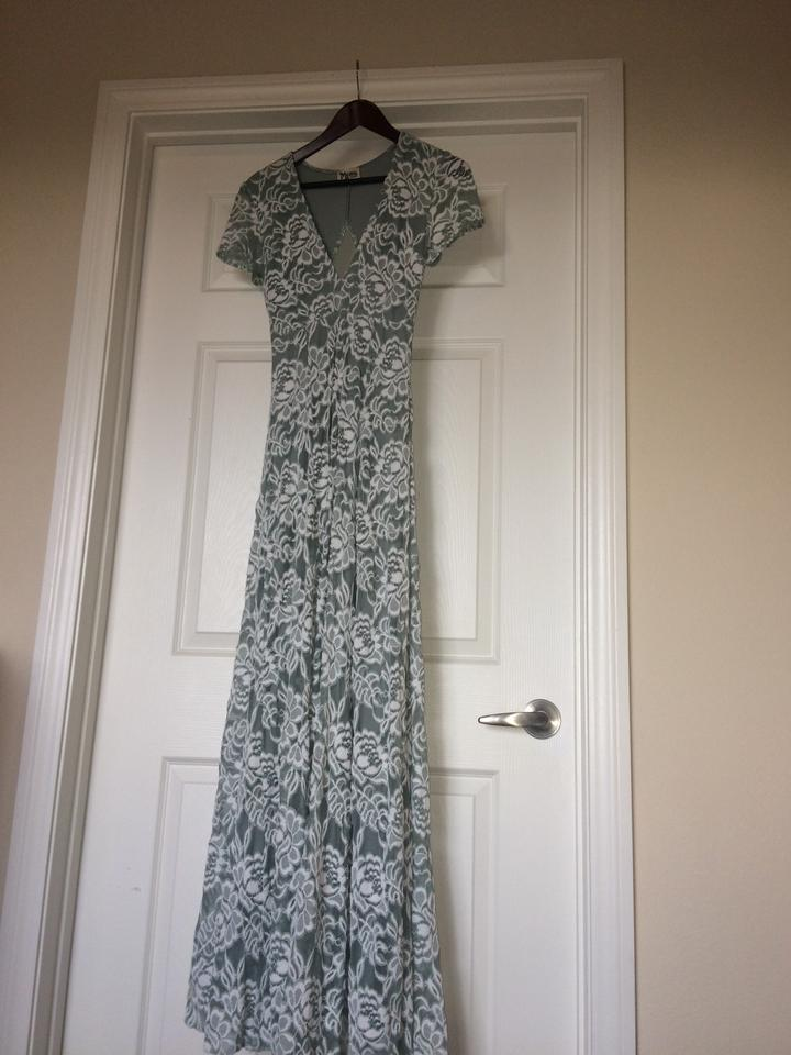 af792dc4187 Show Me Your Mumu Silver Sage Eleanor - Lovers Lace Long Casual Maxi ...