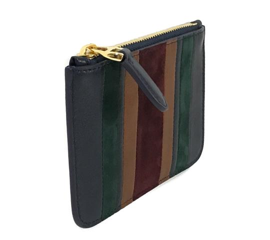 Ralph Lauren Collection NEW RALPH LAUREN Made in Italy Leather Mini Zip Pouch Image 2