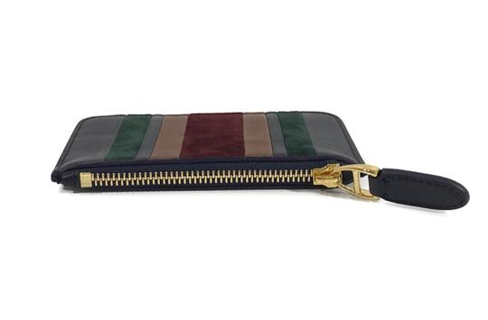 Ralph Lauren Collection RALPH LAUREN Made in Italy Leather Mini Zip Pouch Image 4