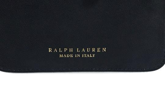 Ralph Lauren Collection RALPH LAUREN Made in Italy Leather Mini Zip Pouch Image 8