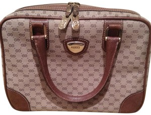 Gucci Satchel in Tan and Brown