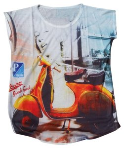 Other Vespa T Shirt White