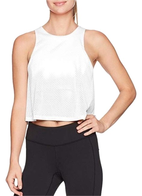 Item - White Light and Free Perforated Bra Activewear Top Size 12 (L)