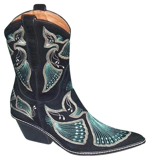 Preload https://img-static.tradesy.com/item/24474636/donald-j-pliner-black-western-couture-suede-peace-intricate-stitching-bootsbooties-size-us-55-regula-0-3-540-540.jpg