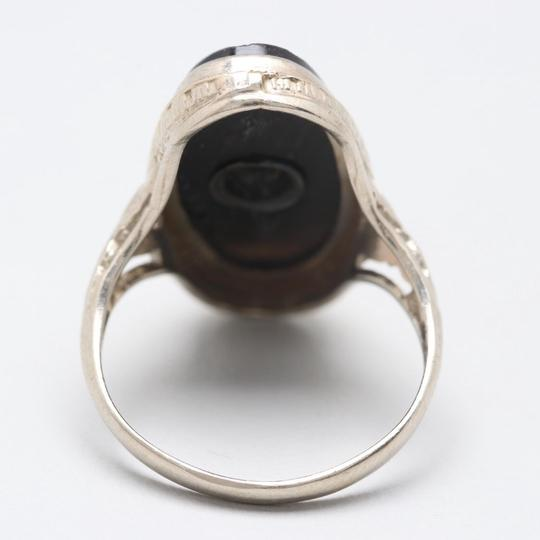 Antique Ring antique onyx ring Image 5