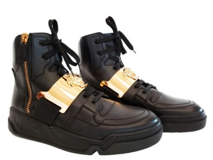 Versace Leather Black Athletic