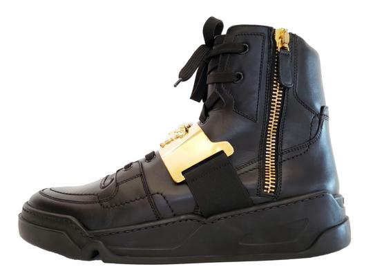 Versace Leather Black Athletic Image 1