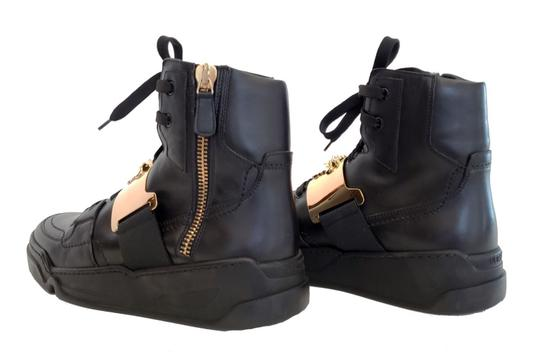 Versace Leather Black Athletic Image 2