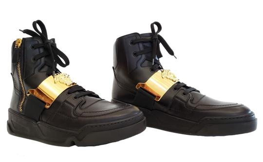 Versace Leather Black Athletic Image 4