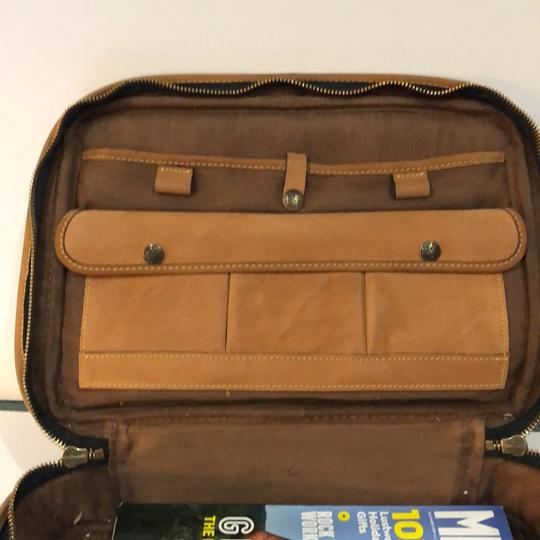 The Territory Ahead Messenger Ralph Lauren Distressed Leather Brown Travel Bag Image 2