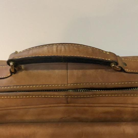 The Territory Ahead Messenger Ralph Lauren Distressed Leather Brown Travel Bag Image 3