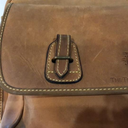 The Territory Ahead Messenger Ralph Lauren Distressed Leather Brown Travel Bag Image 4