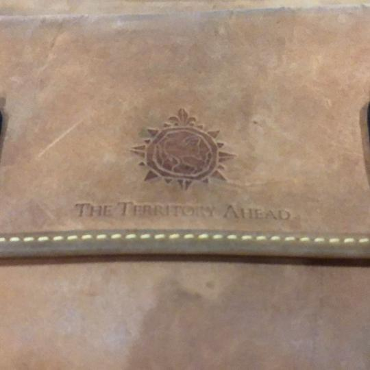 The Territory Ahead Messenger Ralph Lauren Distressed Leather Brown Travel Bag Image 5