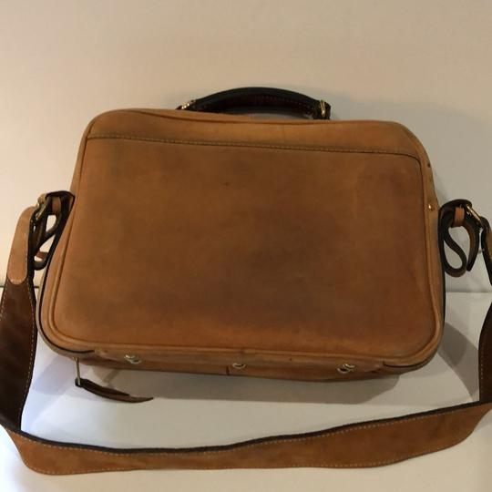 The Territory Ahead Messenger Ralph Lauren Distressed Leather Brown Travel Bag Image 6