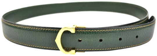 Preload https://img-static.tradesy.com/item/24474771/cartier-must-c-dark-green-leather-and-logo-fits-33-to-37-mt-belt-0-1-540-540.jpg