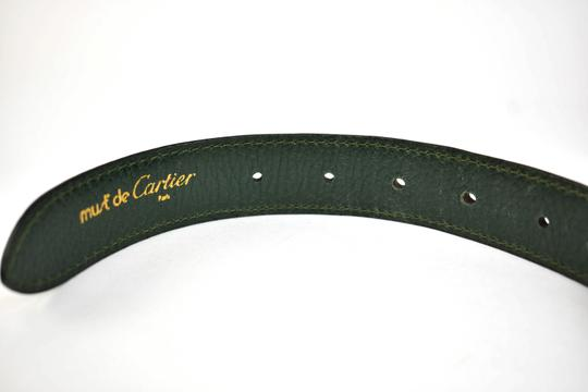 Cartier Leather & Logo fits 33