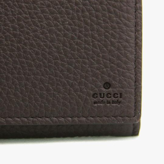 Gucci Gucci Brown Leather Long/Continental Wallet w/o Box 296676 2140 Image 1