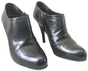 Prada Ankle Ankle Leather Black Boots