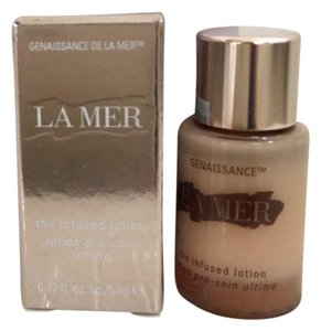 La Mer La Mer Genaissance Infused Lotion Travel Sz 0.17oz/5ml