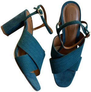 5e65b128ea0 Blue Zara Sandals - Up to 90% off at Tradesy