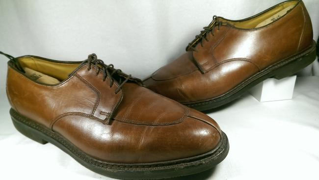 Item - Brown Comfort Orthotic Men's Leather Dress 13 Shoes