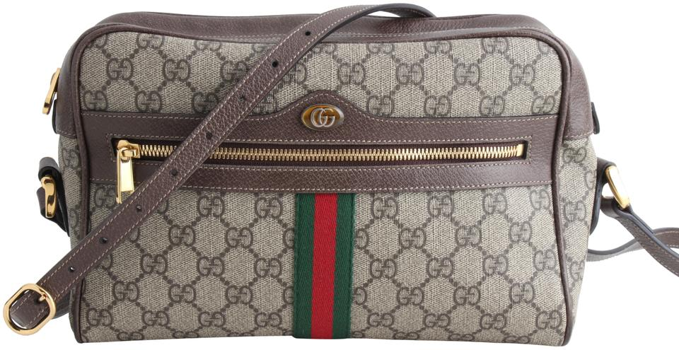 34d24cba9d3 Gucci Ophidia Medium Gg Supreme Multicolor Leather Cross Body Bag ...